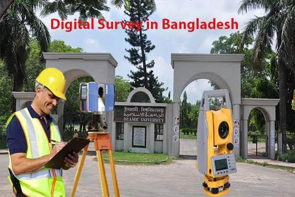 Digital survey in bangladesh